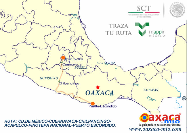 cd de mxico tome usted la autopista mxico acapulco trayecto que se puede realizar en horas tome el trayecto de acapulco a puerto
